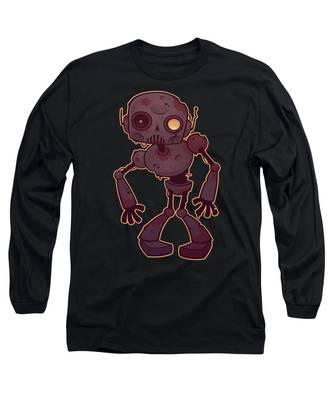 Rust Long Sleeve T-Shirts