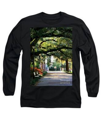 Savannah Park Sidewalk Long Sleeve T-Shirt