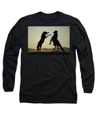 Stallion's Dance Long Sleeve T-Shirt