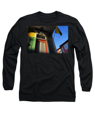 Long Sleeve T-Shirt featuring the photograph The Birds by Skip Hunt