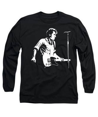 Bruce Springsteen Rocks Long Sleeve T-Shirts