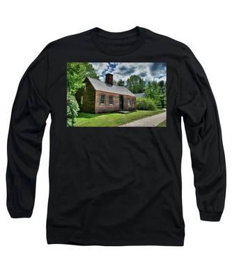 The John Wells House In Wells Maine Long Sleeve T-Shirt