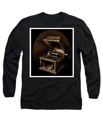 The Old Victrola Long Sleeve T-Shirt
