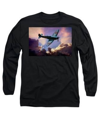 The Supermarine Spitfire Long Sleeve T-Shirt