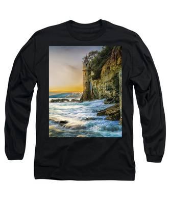 Time Flows I Wait Long Sleeve T-Shirt