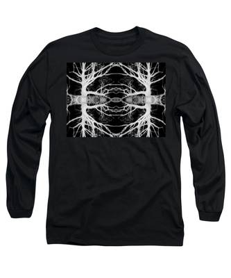 Tree Kaleidescope  Long Sleeve T-Shirt