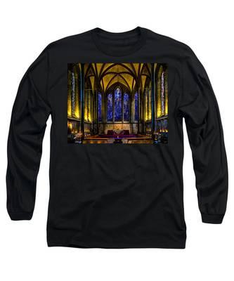 Trinity Chapel Salisbury Cathedral Long Sleeve T-Shirt