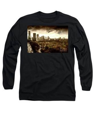 Upper West Side Of New York City Long Sleeve T-Shirt