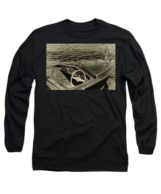 Vintage 1958 Chris Craft Utility Boat Long Sleeve T-Shirt