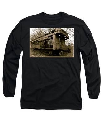 Vintage Train Long Sleeve T-Shirt