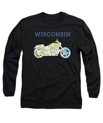 Us Border Long Sleeve T-Shirts