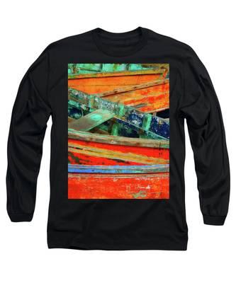 Yucalpeten 3 Long Sleeve T-Shirt by Skip Hunt