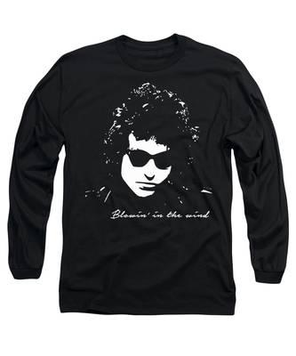 Bob Dylan Rocks Long Sleeve T-Shirts