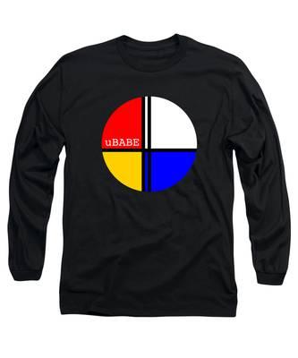 Circle Style Long Sleeve T-Shirt
