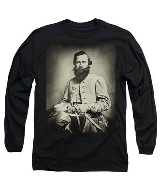 Confederate Jeb Stuart Long Sleeve T-Shirt