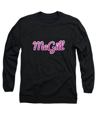 Mcgill #mcgill Long Sleeve T-Shirt