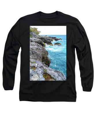 Negril Jamaica Cliffs Long Sleeve T-Shirt