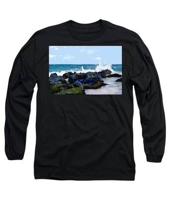 Ocean Meets The Coast Long Sleeve T-Shirt
