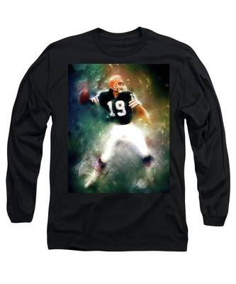 Quarterback Bernie Kosar Long Sleeve T-Shirt