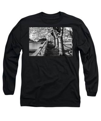 River Lines Long Sleeve T-Shirt