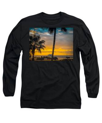 Sunset On The Island Long Sleeve T-Shirt