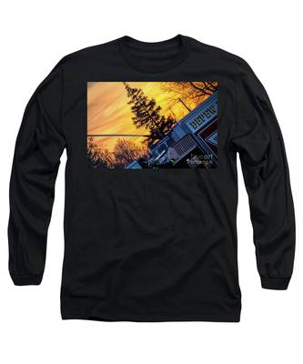 Sunset Streams Long Sleeve T-Shirt