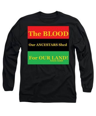 The Blood Long Sleeve T-Shirt