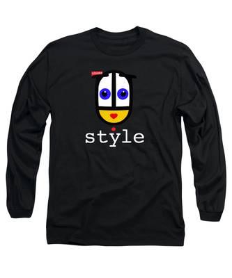 Ubabe Dot Style Long Sleeve T-Shirt