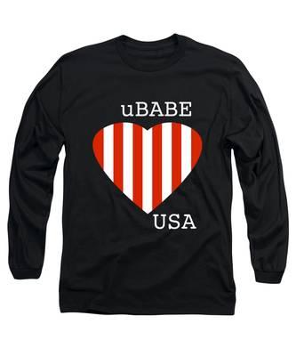 uBABE USA Long Sleeve T-Shirt