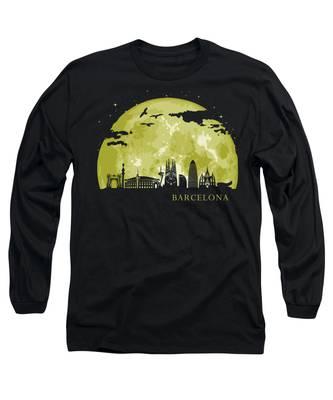 Spain Long Sleeve T-Shirts