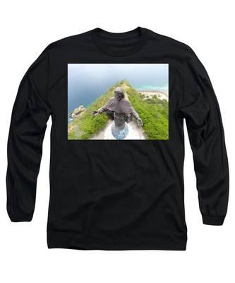 Sunset Landscape Long Sleeve T-Shirts