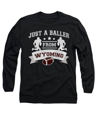 Wyoming Long Sleeve T-Shirts