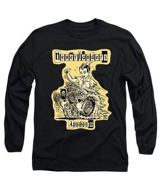 Figurative Long Sleeve T-Shirts