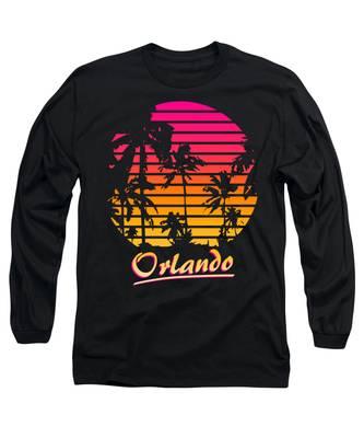 Orlando Long Sleeve T-Shirts