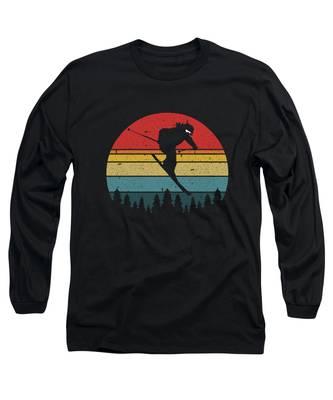 Winter Sunset Long Sleeve T-Shirts