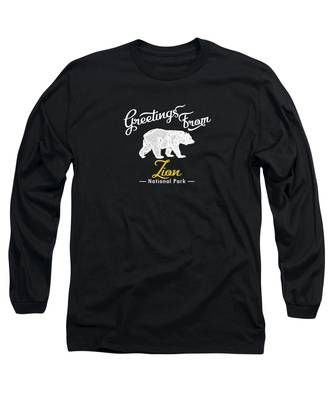 Zion National Park Long Sleeve T-Shirts
