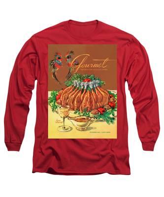 A Gourmet Cover Of Chicken Long Sleeve T-Shirt