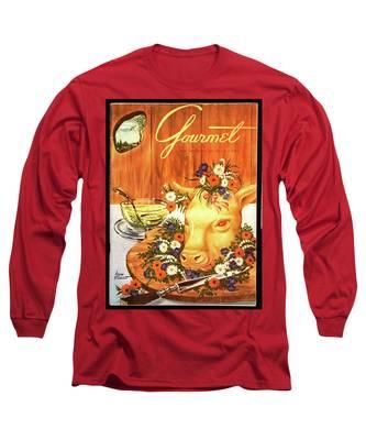 A Gourmet Cover Of Tete De Veau Long Sleeve T-Shirt