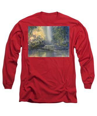 Dawn On The Derwent Long Sleeve T-Shirt