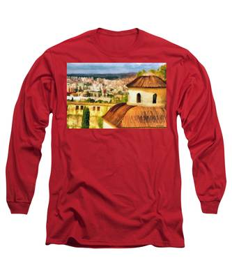 Pious Witness To The Passage Of Time Long Sleeve T-Shirt