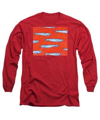 Swimming Upstream Long Sleeve T-Shirt