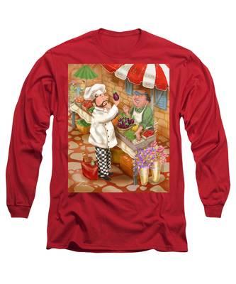 Chefs Go To Market I Long Sleeve T-Shirt