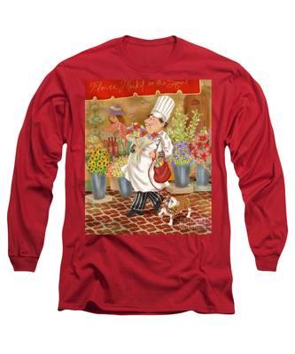 Chefs Go To Market II Long Sleeve T-Shirt