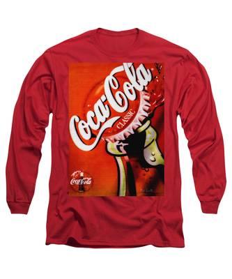 Coca Cola Classic Long Sleeve T-Shirt