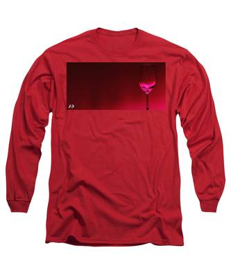 Wine Glass Long Sleeve T-Shirts