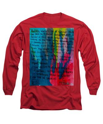Inspiration From Warhol Long Sleeve T-Shirt