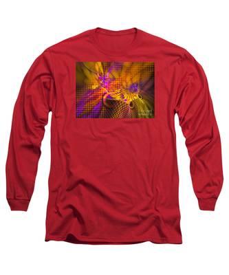 Joyride - Abstract Art Long Sleeve T-Shirt