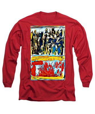 Mountain Of Many Faces Long Sleeve T-Shirt