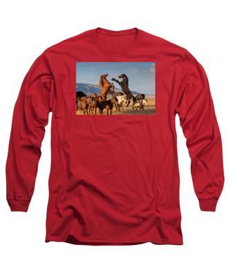 Mustang Clash Long Sleeve T-Shirt