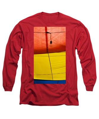 Long Sleeve T-Shirt featuring the photograph Primary Light by Skip Hunt